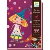 Arts & Crafts Djeco Stitching Cards - Witches Manufactures