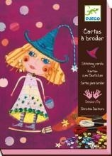 China Arts & Crafts Djeco Stitching Cards - Witches