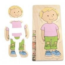 China Toys, Puzzles, Games & More Educo My Body Puzzle - Girl