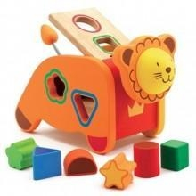 China Toys, Puzzles, Games & More Djeco Geo Lion