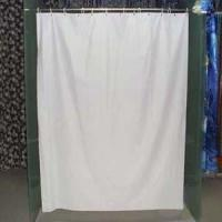 China PVC-White PVC Shower Curtain Liner on sale
