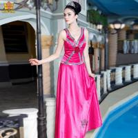 China 5267# 2012 designer rose pink prom dress on sale