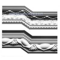 China Gypsum/Plaster cornice mouldings on sale