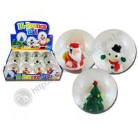 Hi Bounce Water Ball With X'mas Figure Manufactures