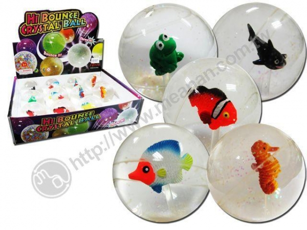Quality Hi Bounce Crystal Bouncing Ball for sale