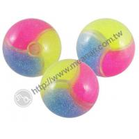 3 Color Glitter Water Bounce Ball Manufactures
