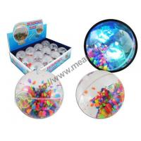 Diamond Cut Bouncing Water Ball With Bead Manufactures
