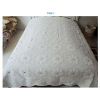 China Computer embroidery quilt set on sale
