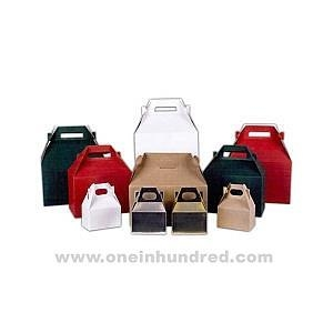 """Quality White - 9"""" x x - Food service gable boxes. for sale"""