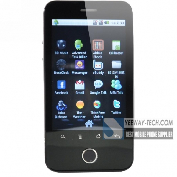 Quality Star A3000 Android 2.2 Dual sim card Analog TV free WIFI FM facebook twitter for sale