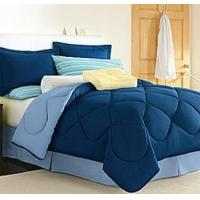 Dorm Room In A Box Navy/Blue 10pc Set for XL Twin College Beds Manufactures