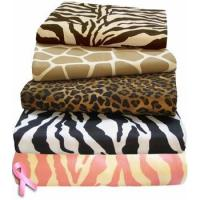 Safari Collection XL Twin Animal Print Comforter Set by Scent-Sation, Inc. Manufactures