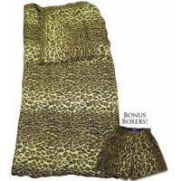 Leopard Print Jungle Jim Sleeping Bag by Nick & Nora Manufactures