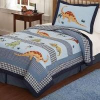Buy cheap Dino Dave Blue Quilted Bedding & Accessories from wholesalers