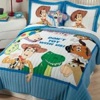 Quality Disney Toy Story Quilted Bedding & Accessories for sale