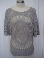 China SHORT SLEEVES PULLOVER (HAND CORCHET) wholesale