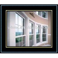 China HUNG WINDOWS pvc double hung window on sale