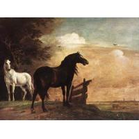 Oil Painting horses_f Manufactures