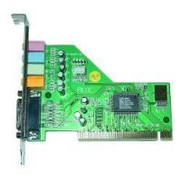 China PCI 4 Channel Sound Card/CM8738 on sale