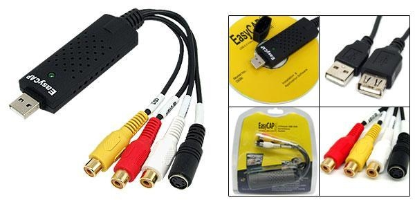 Quality 4 Channel EasyCap USB DVR Video Audio Captureo Adapter for sale