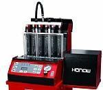 Fuel Injector Cleaner HO-6C Automatic detecting analyzing and cleaning tester Manufactures