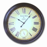 ,wall clock,Antique wooden wall clock Manufactures