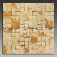 Buy cheap cream acr marble mosaic 23 from wholesalers