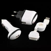 Buy cheap 3-in-1 Charger for iPod iPhone Series from wholesalers