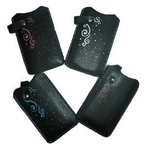 China Leather Case for iPhone 4G
