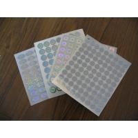 Hologram security label Manufactures