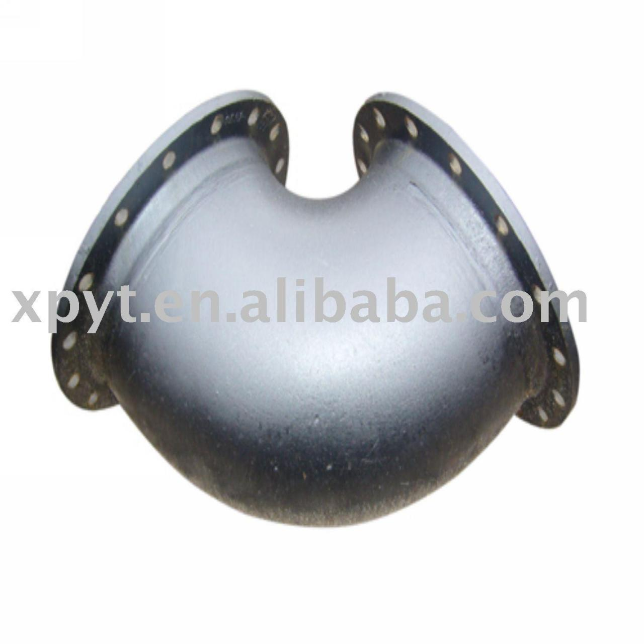 Ductile iron pipe fitting-Double flange bend Manufactures