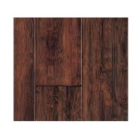 China Handscraped Solid Bamboo Flooring on sale