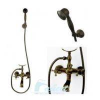 China Bathtub Faucet Antique Brass Bath Tub Faucet Shower 5770F on sale