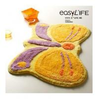 Buy cheap Bathroom Accessory Lovely Butterfly Non-slip Bathroom Rug L2205 from wholesalers