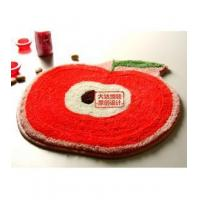Buy cheap Bathroom Accessory Beautiful Red Apple Non-slip Bath Rug L2213 from wholesalers