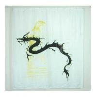 Fabric Shower Curtains East Dragon and Belle Fabric Shower Curtain A3007 Manufactures