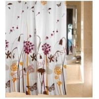 Fabric Shower Curtains Dandelion Flowers Fabric Shower Curtain WY2502 Manufactures