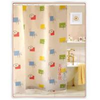 Fabric Shower Curtains Colorful Plantlet Fabric Shower Curtain WY2506 Manufactures