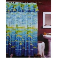 Fabric Shower Curtains Bubble Skirt Coco Dolphin Shower Curtain P3805 Manufactures