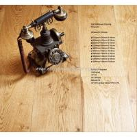 Buy cheap White Oak Unfinished Oak Multi-layer Engineered Flooring from wholesalers