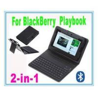 China Folding Water - Proof Wireless Bluetooth Silicone Keyboard Case For Blackberry Playbook on sale