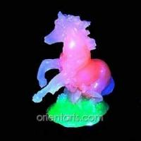 Imitation Jade Carving--Horse Manufactures