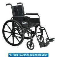 Buy cheap Drive Medical Cirrus IV Lightweight Wheelchair with 16