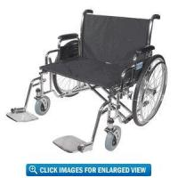 Buy cheap Drive Medical Sentra EC Heavy Duty Extra-Wide Bariatric Wheelchair with 30