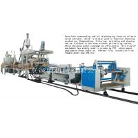 Funtional sheet compounding extruder line