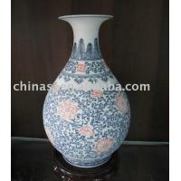 Blue and White Porcelain Vase Manufactures