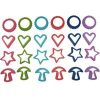 Star cookie cutter images images of star cookie cutter for Norpro 3 piece canape bread mold set
