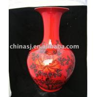 Chinese Red Porcelain Vase Manufactures