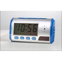Mini Camera Table Clock DVR With Motion Detection Manufactures