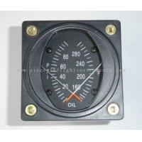 China 2 1/4 Combination Oil Dual Aircraft Pressure Gauge and Temp Guages PT2-10P30F on sale